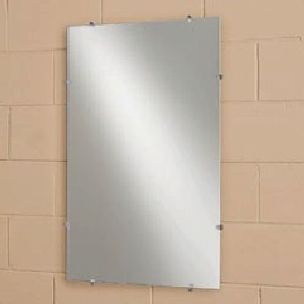 See All Frameless Flat Mirror - - Bathroom Mirrors Large Unframed