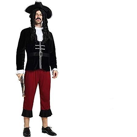 thematys® Disfraz de Pirata para Hombre Cosplay, Carnaval y ...