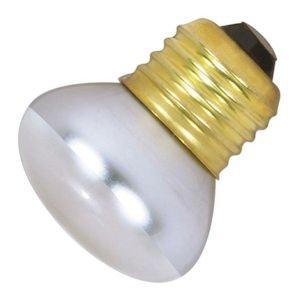 Satco 40R14 Incandescent Reflector, 40W E26 R14 Stubby, Clear Bulb (Spot Bulb Reflector)
