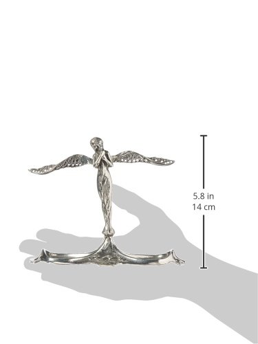 Design Toscano Art Nouveau Angel-in-Waiting Italian Pewter Jewelry Holder PA8961