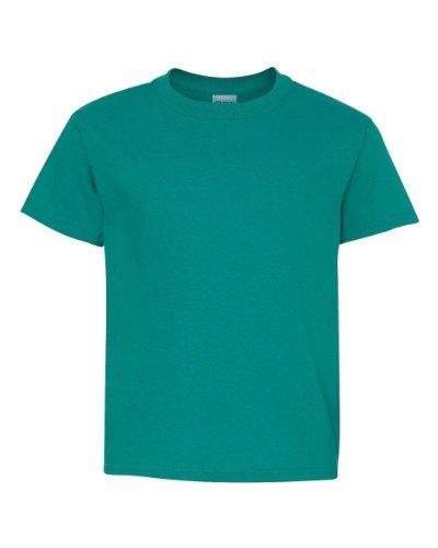 Gildan Heavy Cotton Youth 5.3 oz. T-Shirt, XL, TROPICAL BLUE