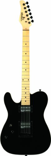 Schecter PT  Electric Guitar (Gloss Black, Left Handed) ()