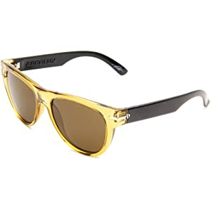 Electric Visual Women's Arcolux Round Sunglasses,Cocoa Frame/Bronze Lens,One Size