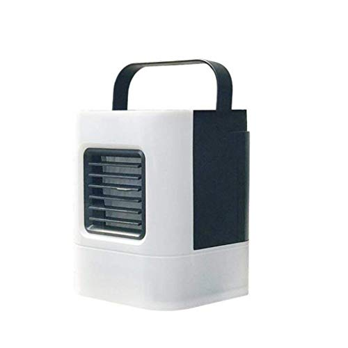 Price comparison product image JPOQW Portable Air Cooler USB Mini Air Conditioner Nano Fan Circulator Humidifier Quiet Office Dorm