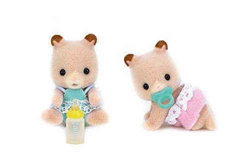 Calico Critters Fluffy Hamster Twins Toy by Calico Critters