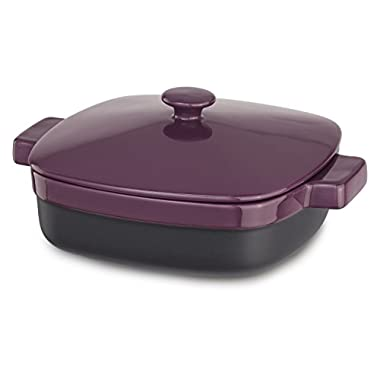 KitchenAid KBMR19CRBY Streamline Ceramic Casserole, 1.9-Quart, Boysenberry