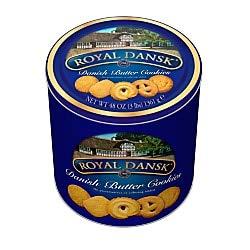 Danish Butter Cookies, 3 Lb Tin