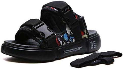 メンズ サンダル 厚底 スポーツサンダル ストラップ ファッション ビーチサンダル 通気性 滑り止め スリッパ 軽量 歩きやすい アウトドア 夏