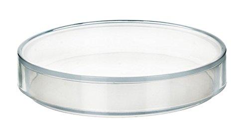 125 x 17mm Plastic Petri Dish - Polypropylene - Single Dish