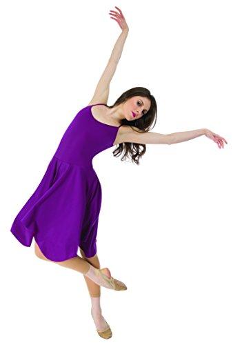Adult-Contemporary-Camisole-DressP740WHTMWhiteMedium