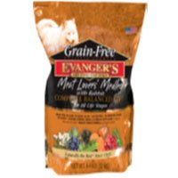 EVANGER'S 776603 Grain Free Meat Lover'S Medley with Rabbit Dry Food for Dog, 33-Pound by Evangers