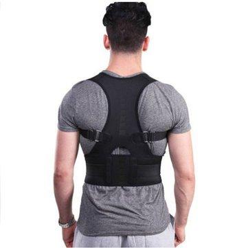 Posture Corrector - back posture corrector - posture corrector for men - Back Corrector - Fully Adjustable Hunchbacked Posture Corrector Lumbar Back Magnets Support Brace Shoulder Band Belt (XL) by Generic (Image #2)
