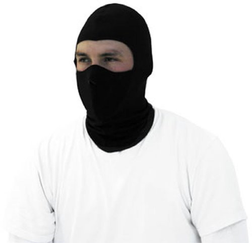 - Zan headgear Coolmax Balaclava with Neoprene Black Face Mask