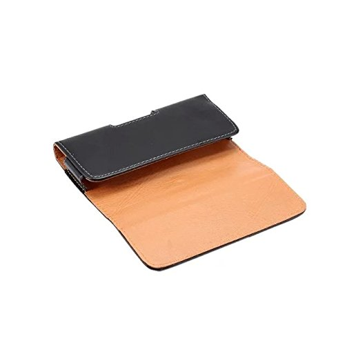 eBuymore Luxury PU Leather Horizontal Belt circumstance Executive Holster for Samsung Galaxy J7 Note 5 S7 Edge S6 Edge Plus iPhone 7 Plus 6S Plus 7Pro Motorola DROID Turbo 2 Black Belt Clips Holsters