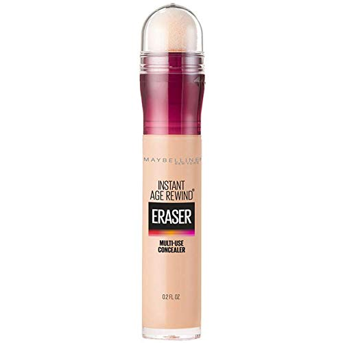 Maybelline Instant Age Rewind Eraser Dark Circles Treatment Multi-Use Concealer, Light, 0.2 Fl Oz (Pack of 1)