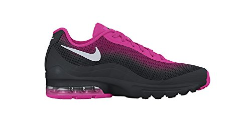 Nike Fc Shoe (NIKE Women's Air Max Invigor Print Black/Metallic Silver/Pink FL/Sprt FC Running Shoe 6 Women US)