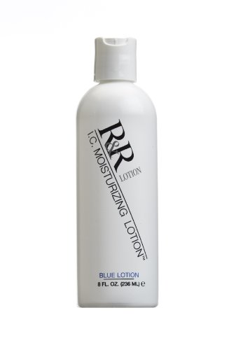 8oz. R& R Lotion Blue IC Pregloving Antistatic Moisturizing Lotion R&R Lotion Inc ICL-8
