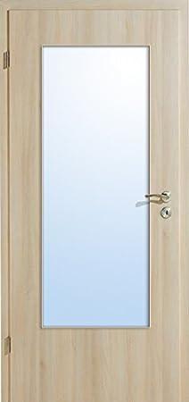 De madera de acacia color 1 LA DIN con una puerta interior posición configurables: Amazon.es: Bricolaje y herramientas