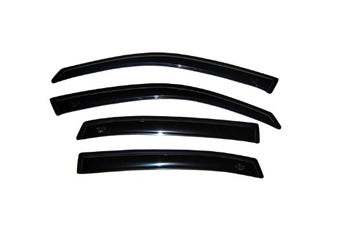 Auto Ventshade 94234 Original Ventvisor Side Window Deflector Dark Smoke, 4-Piece Set for 2000-2005 Chevrolet Impala