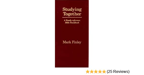 Studying together mark finley 9781878046086 amazon books fandeluxe Choice Image