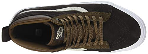 Trainers Dark Earth Brown Vans MTE Sk8 Unisex Adults' Hi Seal cnWcOqvT7