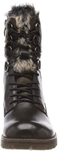 26212 Tamaris 98 De Bottes Noir 21 Comb Neige Femme black 6qgdqx