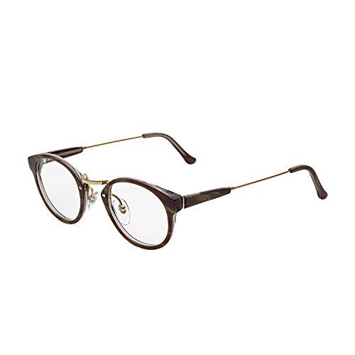 Super Eyeglasses SUSM3 Panama Optical Natural Horn by - Super Eyeglasses