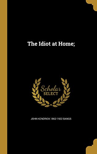 book cover of The Idiot at Home
