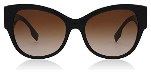 Burberry BE4294 382013 Black BE4294 Butterfly Sunglasses Lens Category 2 Size ()