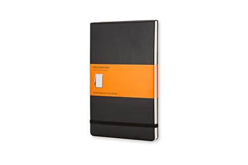 (Moleskine Classic Hard Cover Reporter Notebook, Ruled, Pocket Size (3.5