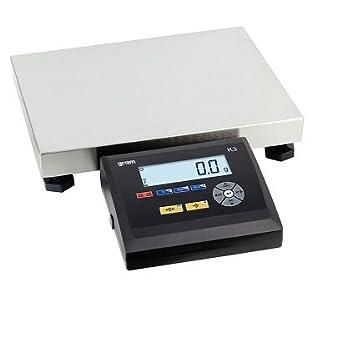 BÁSCULA DIGITAL K3T-30SE - 30 kgs | Báscula digital industrial de alto rendimiento,