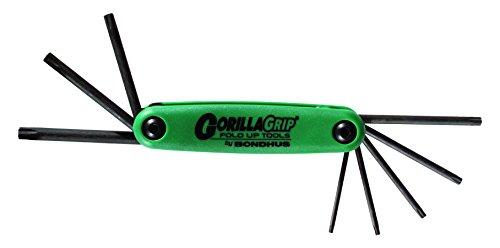 GorillaGrip Tamper Resistant Fold-Ups - set of 8 torx fold u