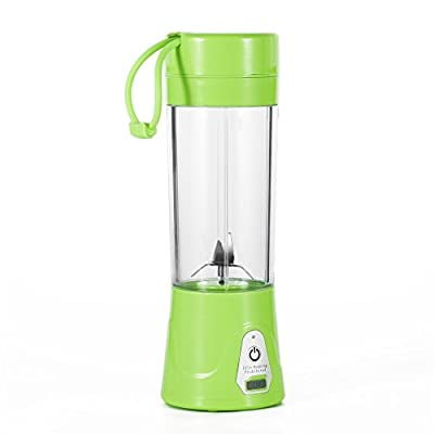 Portable Juice Blender and Mixer, OUTAD Portable Juicer Juice Extractor Portable Rechargeable Battery USB Charging 380ml Juicer Cup with 2000mAh Power