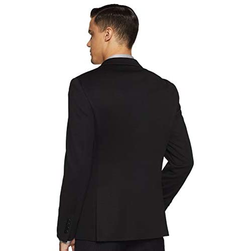 31mxwrHV UL. SS500  - John Players Men's Peak Lapel Slim Fit Blazer