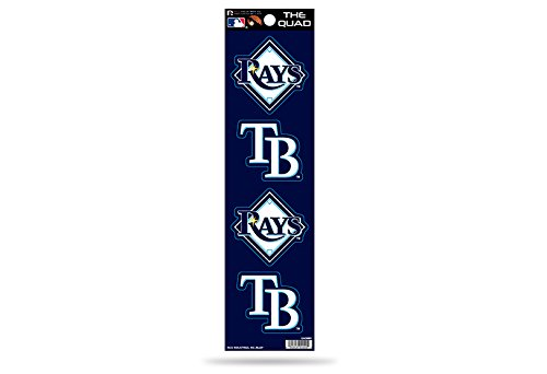MLB Tampa Bay Rays Quad Decal