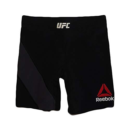 (Reebok UFC Crossfit Women's (Black/Grey) Fight Night Octagon Vale Tudo 2 Shorts (L))