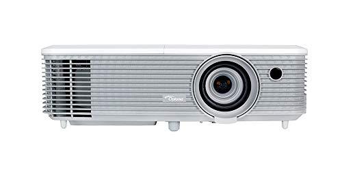 Optoma Beamer EH400+, Full HD 1080p, helder en krachtig, grijs