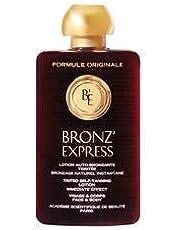bronz Express Lotion teintée auto-bronzante visage et corps 100ml–Lotion teintée auto-bronzante visage et corps