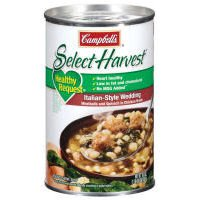 Campbell's Select Harvest 100% Natural Italian Style Wedding Soup 18.6 oz (Beef Select)