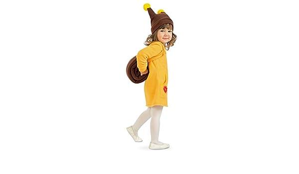 Tierno disfraz de caracol para niños - Amarillo-marrón 111 - 116 ...