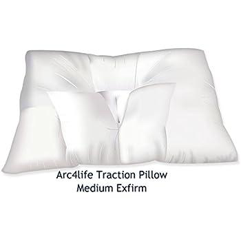 Amazon Com Arc4life Cervical Linear Traction Neck Pillow