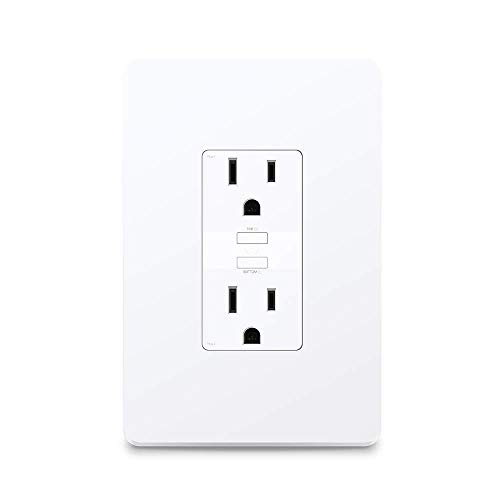Kasa Smart WiFi Power Outlet, 2-Sockets by TP-Link – Smart Outlet, Compatible with Alexa and Google (KP200) by TP-LINK (Image #1)