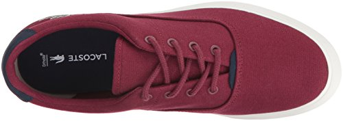 Lacoste Mens Jouer 416 En Cam Mode Sneaker Mörkröd