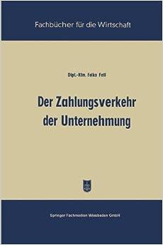Book Der Zahlungsverkehr der Unternehmung (Fachbücher für die Wirtschaft)