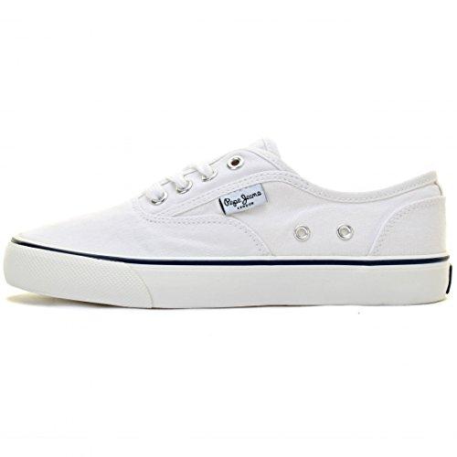 Pepe Jeans - Fashion / Mode - Sneakers Blanc Wn - Blanc