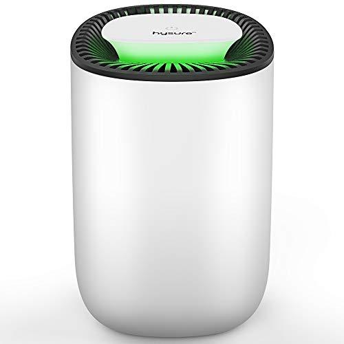 31my7EIMXAL. SS500 【Fácil de usar y seguro】 Funcionamiento con un botón. Pulsa solo el botón ON/OFF para encender el deshumidificador. Cuando el dispositivo está en funcionamiento, la luz LED verde se ilumina. Cuando el tanque de agua es voluminoso, se detendrá automáticamente el trabajo y la luz LED roja se ilumina. 【Gran rendimiento】El deshumidificador puede eliminar hasta 300 ml de humedad al día con un depósito de agua de 600 ml. --- Significante efecto de deshumidificación – -- Indicaciones: bajo las condiciones de 30 °C y RH 80% es el Laborstandardparameter. 【Tecnología Peltier ultra silenciosa】 A diferencia de un deshumidificador con compresor, este deshumidificador eléctrico es muy silencioso en funcionamiento. (El ruido es menor de 33 dB. )Puede crear un mejor medio ambiente.