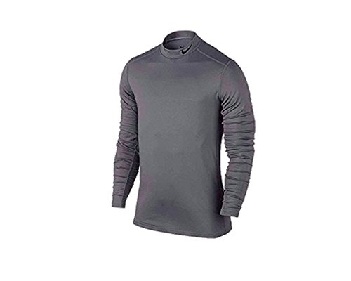 Nike Men's Dri-Fit Track Compression Shirt, XXL, Grey