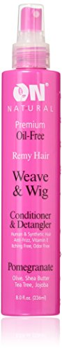 On Natural Weave & Wig Conditioner & Detangler, 8 Fluid Ounce