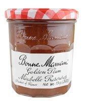 Bonne Maman Golden Plum Mirabelle Preserves - 13 Oz [Pack of 2] (Golden Plum)