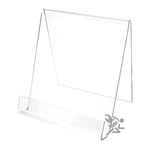 - Book Clear Acrylic Display Stand Easel Holders for Items up to 7/8